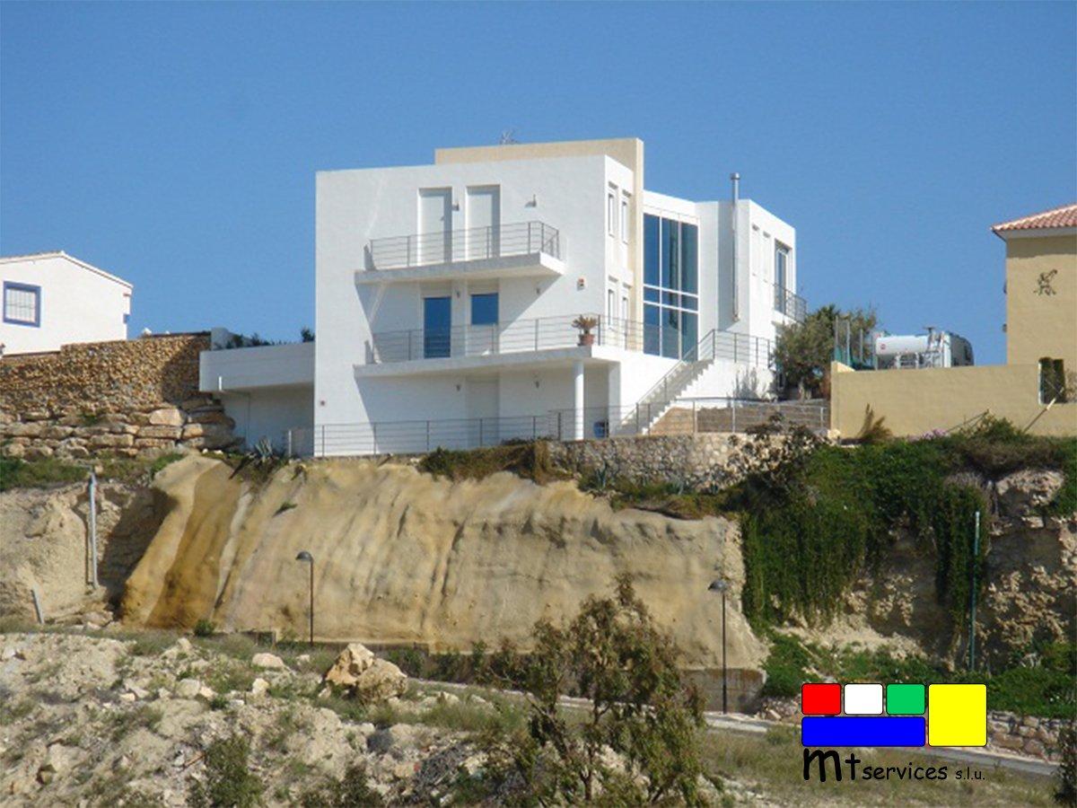 Reforma realizada por mt services vivienda individual de playa